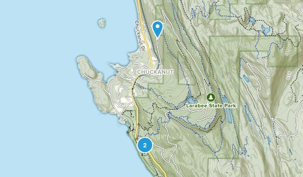 Chuckanut, Washington Map