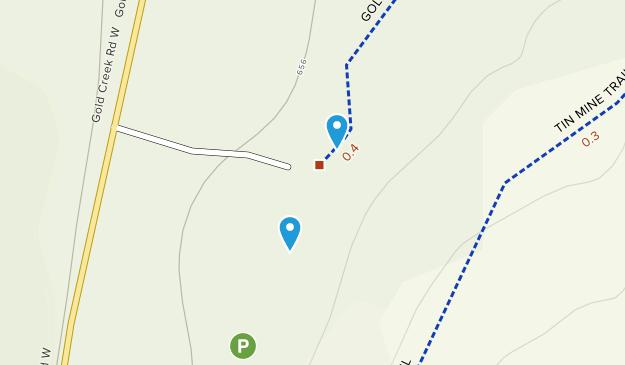 Crosby, Washington Map