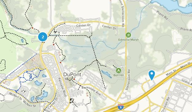 Dupont, Washington Map