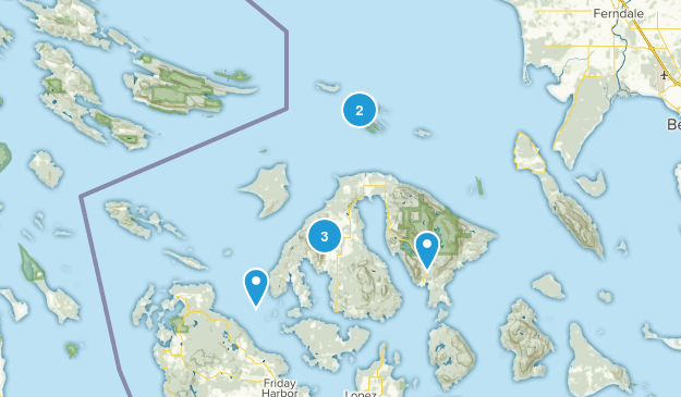 Eastsound, Washington Map