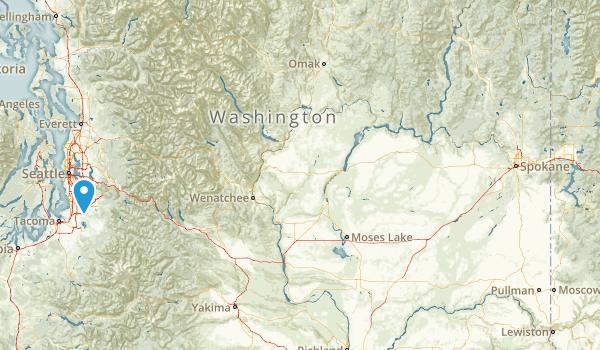 Fairwood, Washington Map