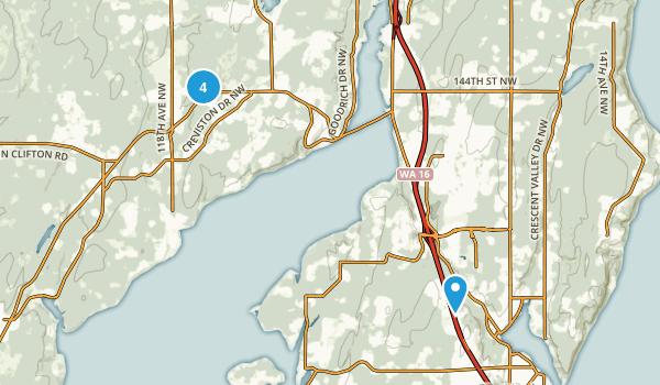 Gig Harbor, Washington Map