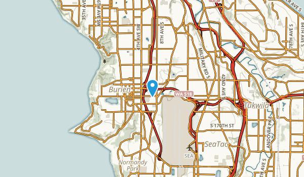 Highline, Washington Map