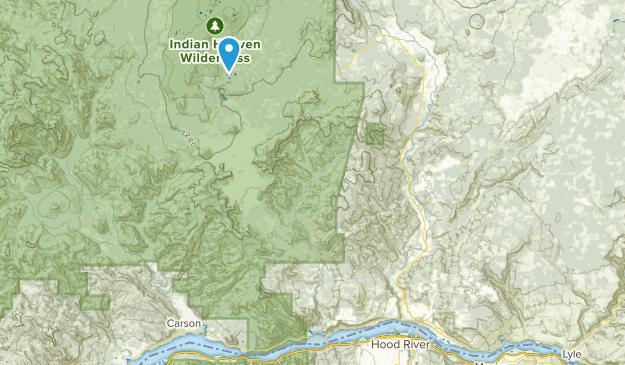 Hood River, Washington Map