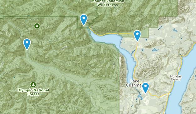 Hoodsport, Washington Map