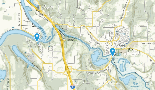 La Center, Washington Map