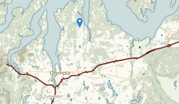 Lacey, Washington Map
