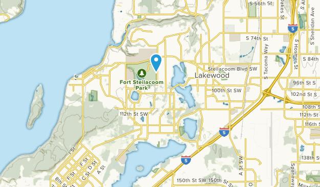 Lake City, Washington Map