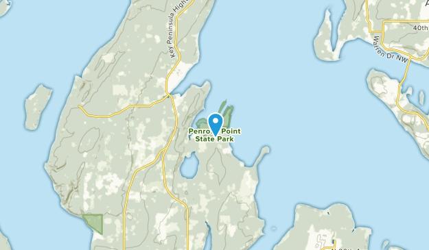 Lakebay, Washington Map