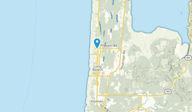 Long Beach, Washington Map