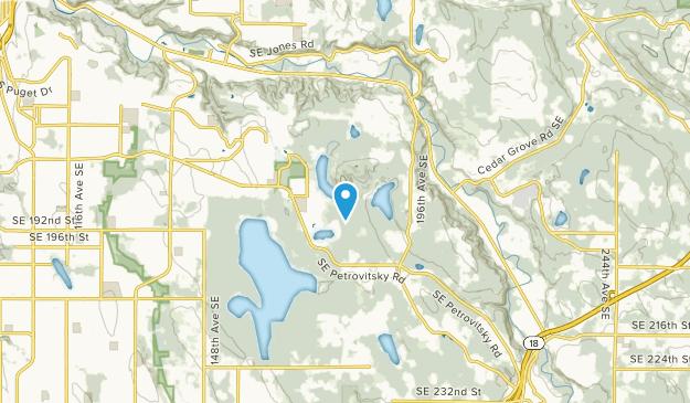 Maple Heights-Lake Desire, Washington Map