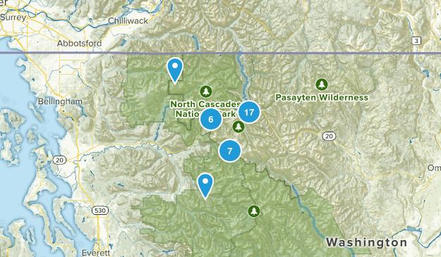 Marblemount, Washington Map
