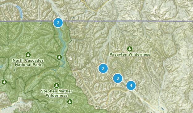Mazama, Washington Map