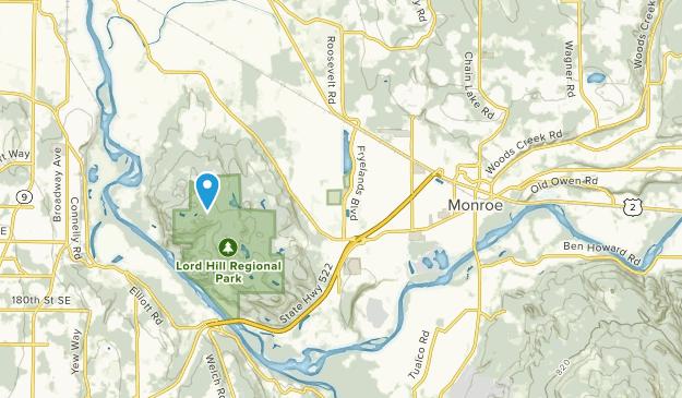 Monroe, Washington Map