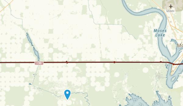 Moses Lake, Washington Map