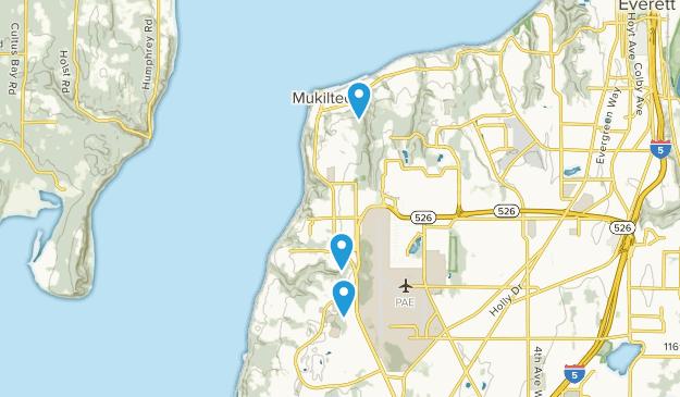 Mukilteo, Washington Map