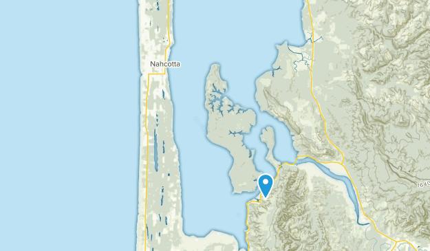 Nahcotta, Washington Map