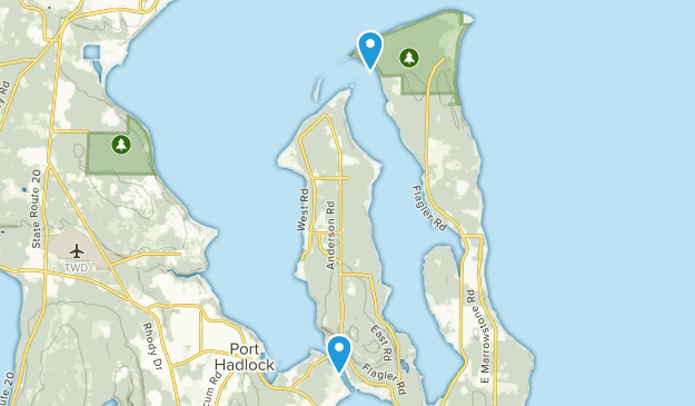 Nordland, Washington Map