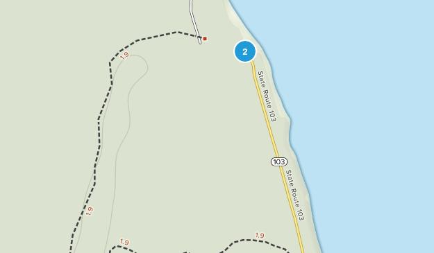 Ocean Park, Washington Map