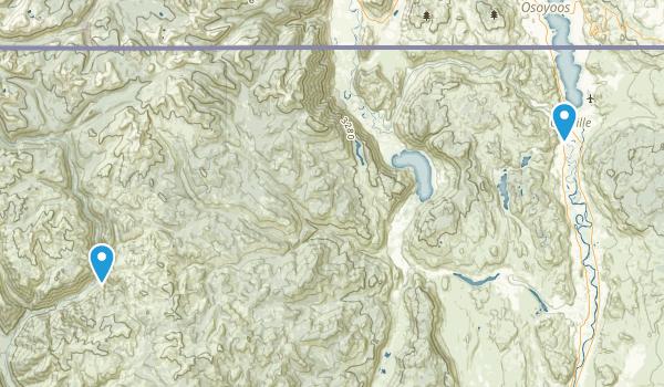 Oroville, Washington Map
