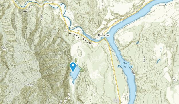 Pateros, Washington Map