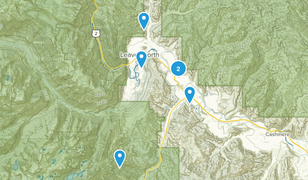 Peshastin, Washington Map