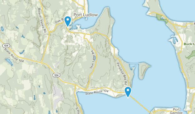 Port Ludlow, Washington Map