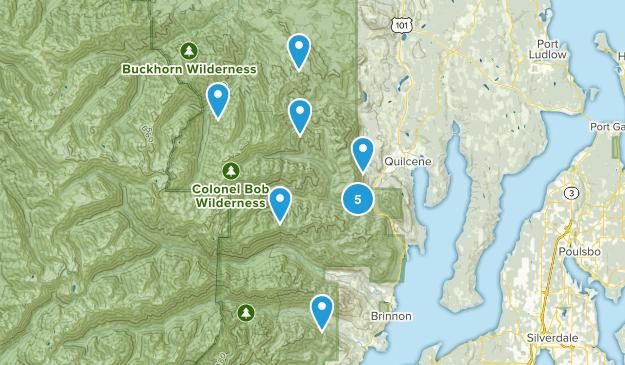 Quilcene, Washington Map