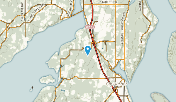 Rosedale, Washington Map