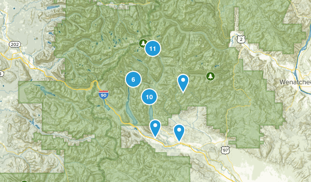 Roslyn, Washington Map