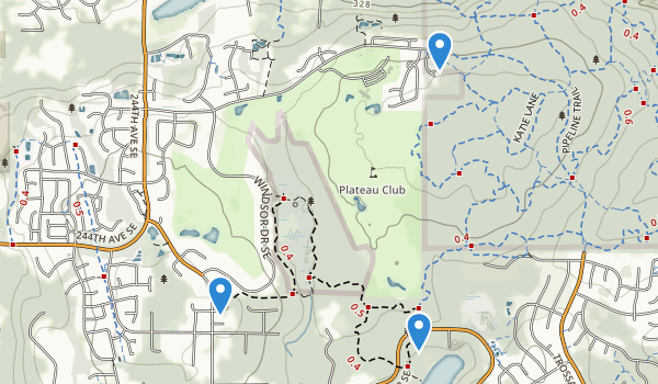 Sammamish, Washington Map
