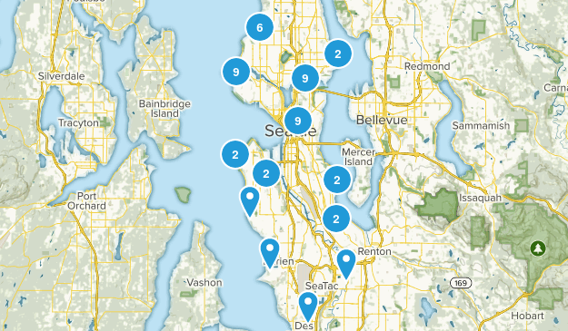 Seattle, Washington Map