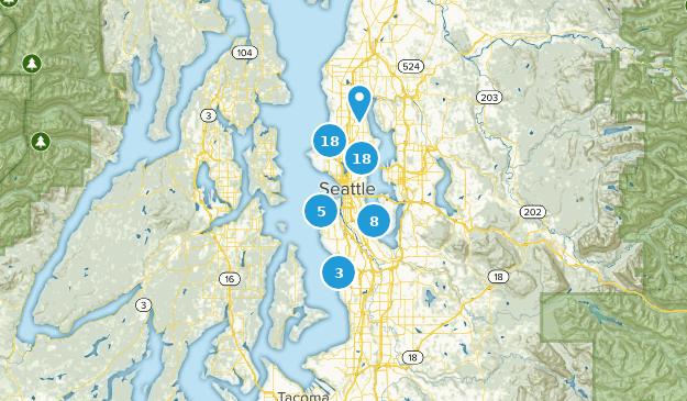 Seattle, Washington Map