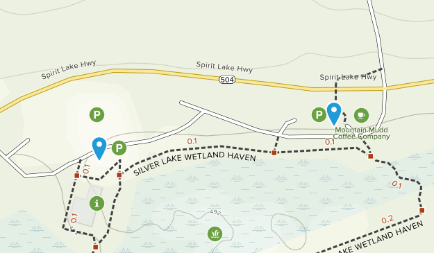 Silver Lake, Washington Map