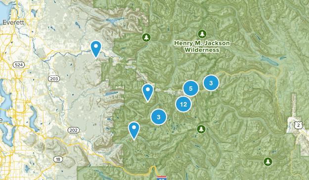 Skykomish, Washington Map