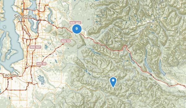 Snoqualmie, Washington Map