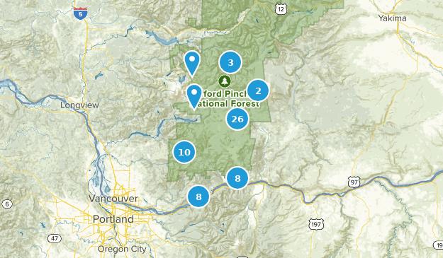 Map Of Trails Near Stevenson Washington Alltrails