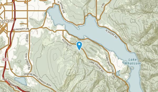 Sudden Valley, Washington Map