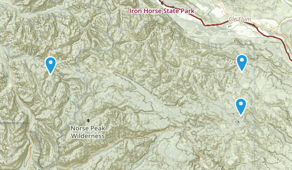 Thorp, Washington Map