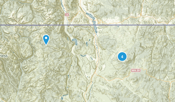 Tonasket, Washington Map
