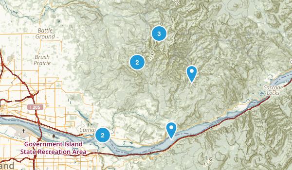 Washougal, Washington Map