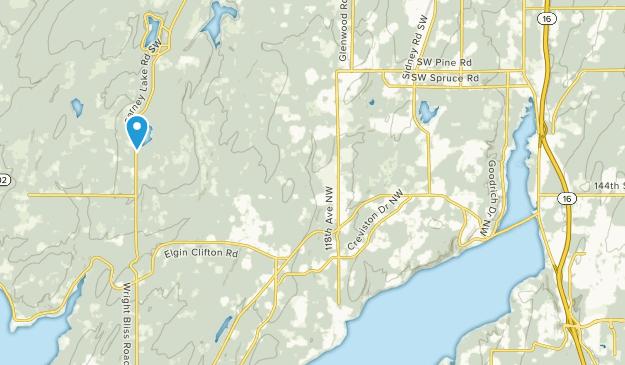 Wauna, Washington Map