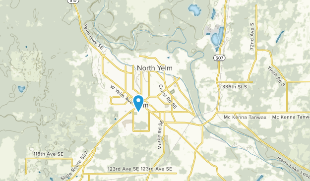 Yelm, Washington Map