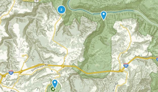 Beaver, West Virginia Map