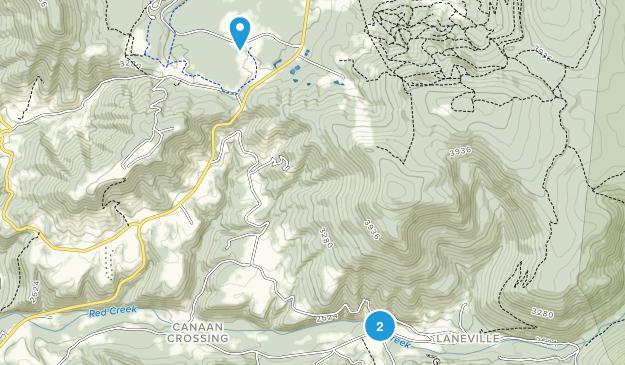 Canaan Crossing, West Virginia Map