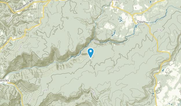 Douglas, West Virginia Map