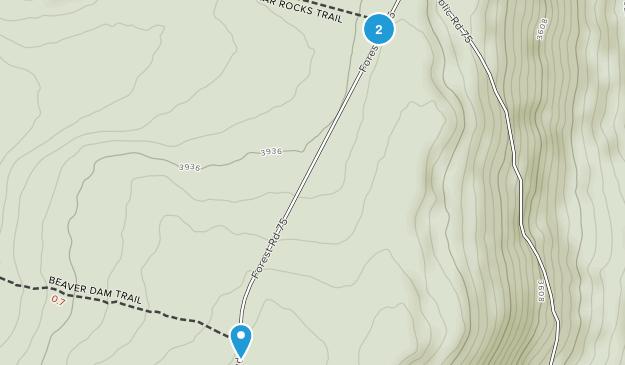 Jordan Run, West Virginia Map