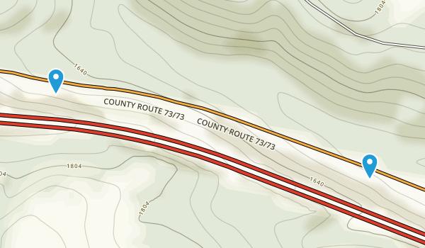 Laurel Run, West Virginia Map