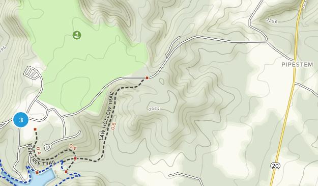 Pipestem, West Virginia Map