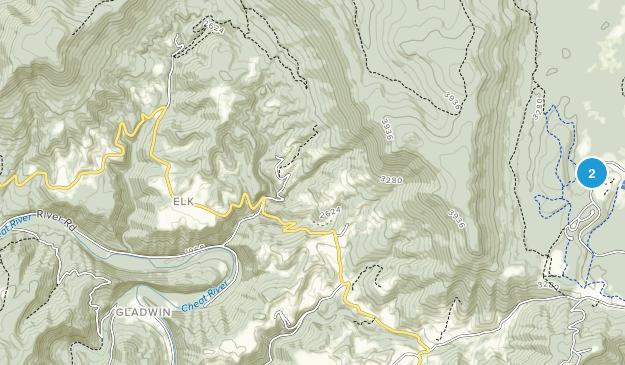 Red Creek, West Virginia Map